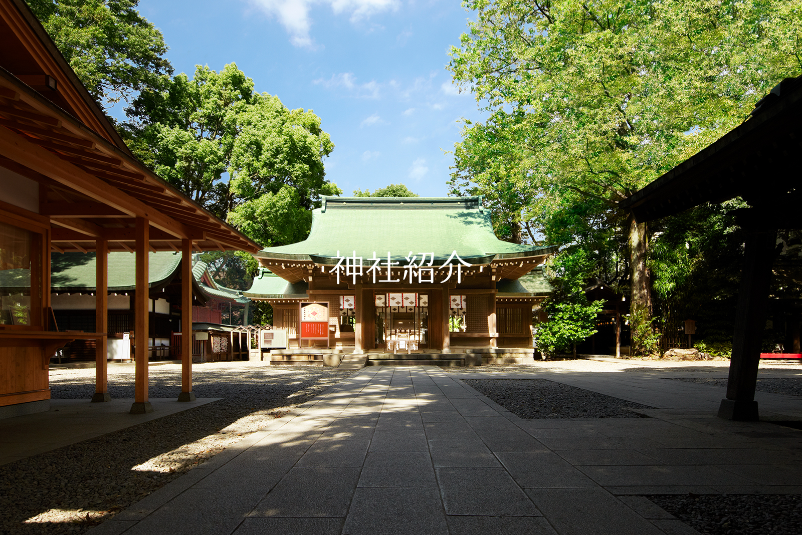 縁結びの神様 川越氷川神社:安...